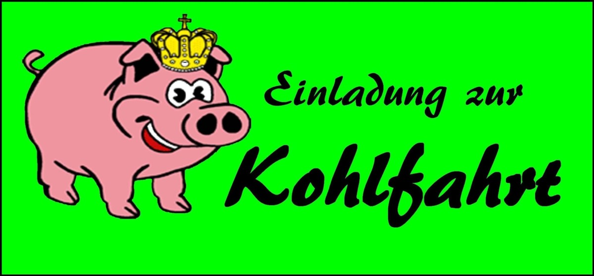 kohlfahrt oldenburg - kohlfahrt bremen / cocktailkohlfahrten ist, Einladung