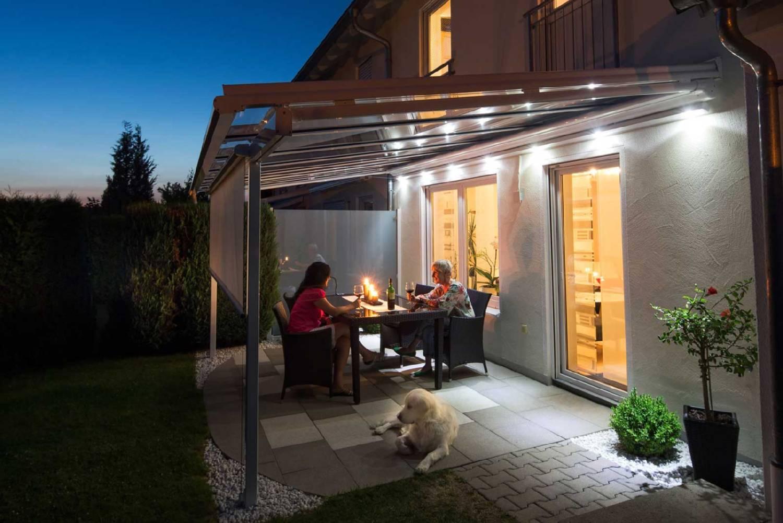 Terrassen berdachungen vom fachbetrieb im remstal lutz for Terrassenbeleuchtung ideen
