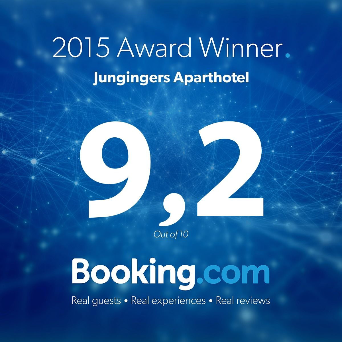 bookig.com award 2015