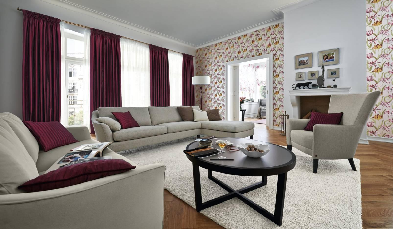 Gardinen polsterei modernes wohnen raumausstattung ehlert unna wohnberatung gardinen und - Gardinen modernes wohnen ...
