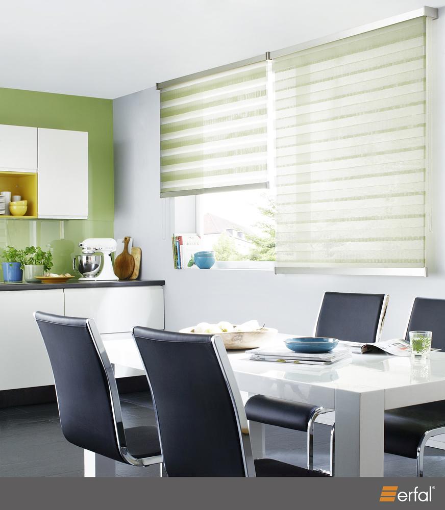 20 jahre gardinenfachgesch ft und gardinendesign doppelrollos sichtschutz. Black Bedroom Furniture Sets. Home Design Ideas