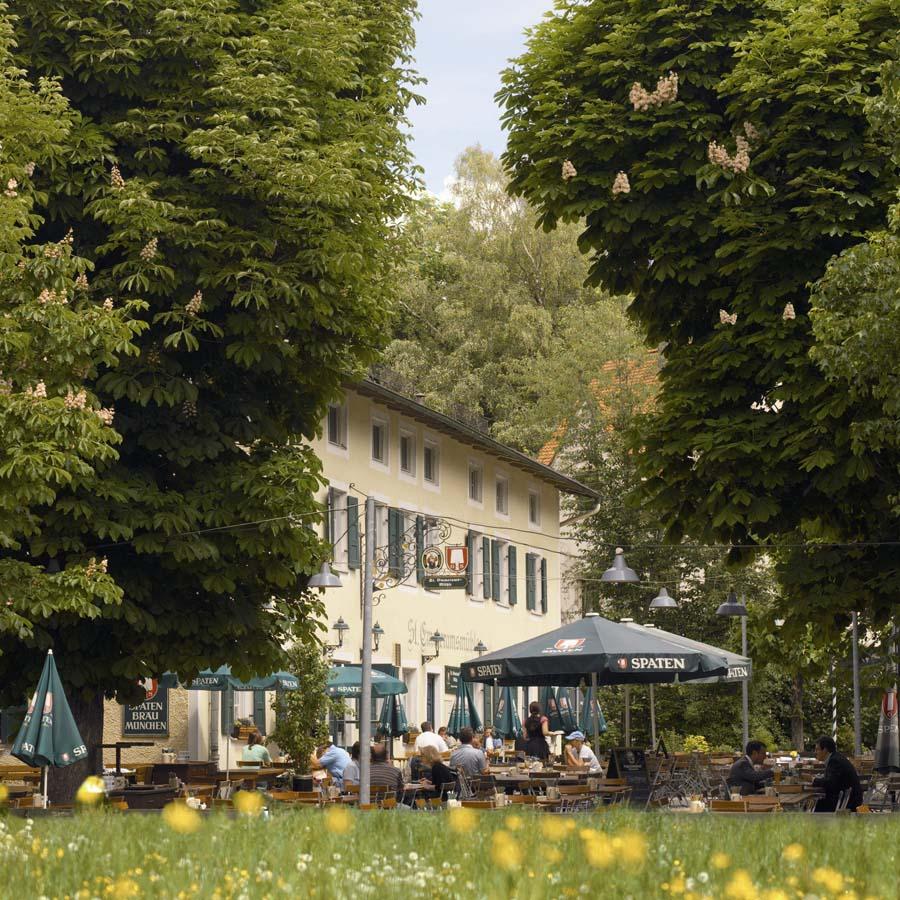 Alter Botanischer Garten Stadt Zürich: Bayrisches Restaurant Im Zentrum Von München
