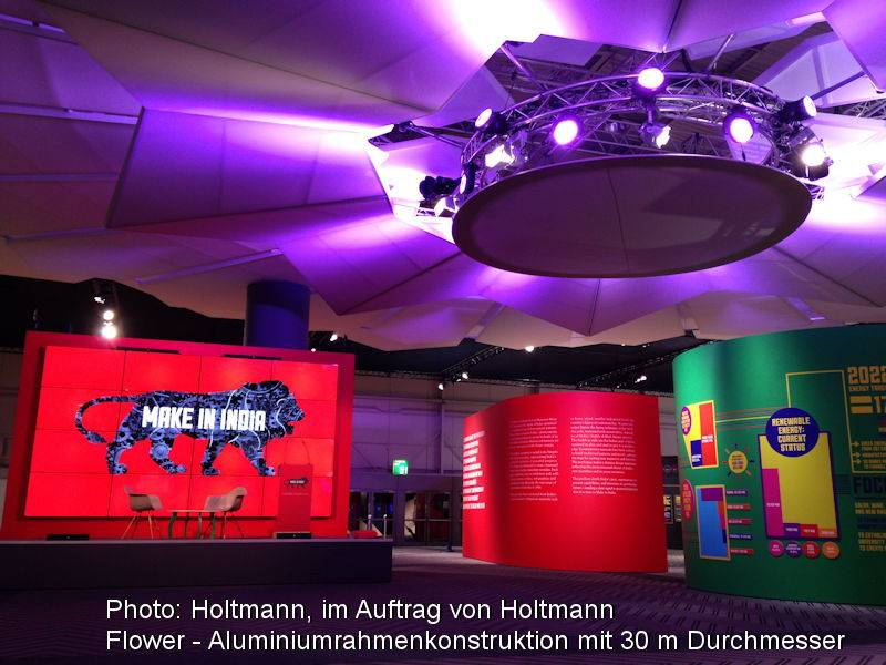 Photo: Holtmann, on behalf of Holtmann, 2D aluminium frame constructio