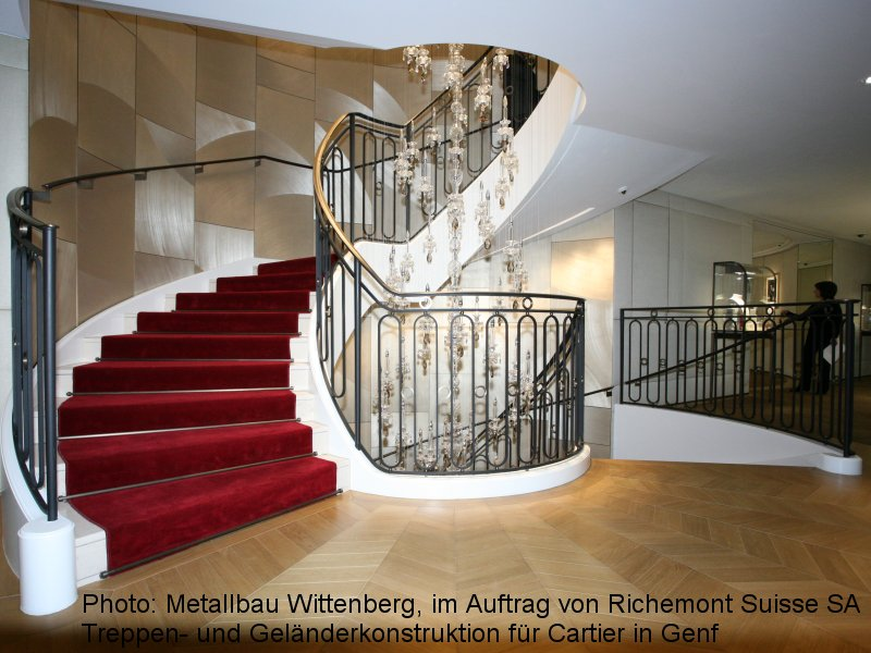 Photo: Metallbau Wittenberg, on behalf of Richermont Suisse SA, Steel