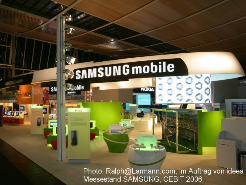 Photo: Ralph@Larmann.com, ordered on behalf of ideea, Trade Fair Stand