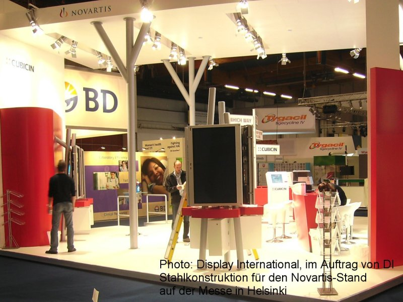 Photo: Display International, on behalf of DI, Steel construction for