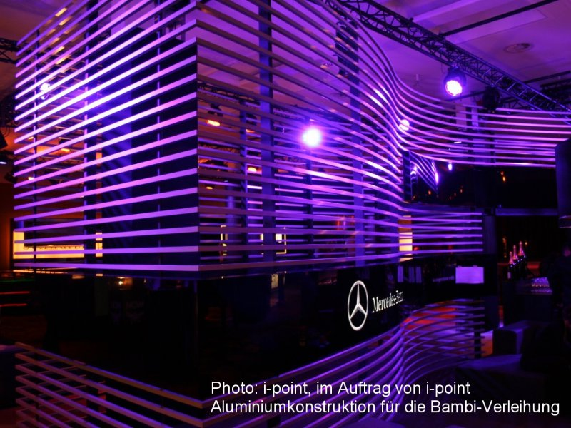 Photo: i-point, on behalf of i-point, Aluminium construction for the B