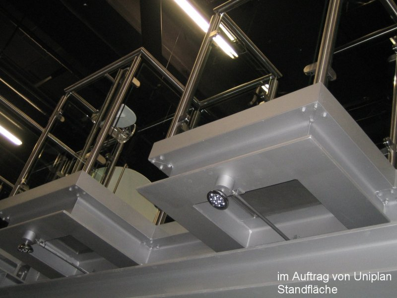 Photo: Metallbau Wittenberg, on behalf of Uniplan, Stand area