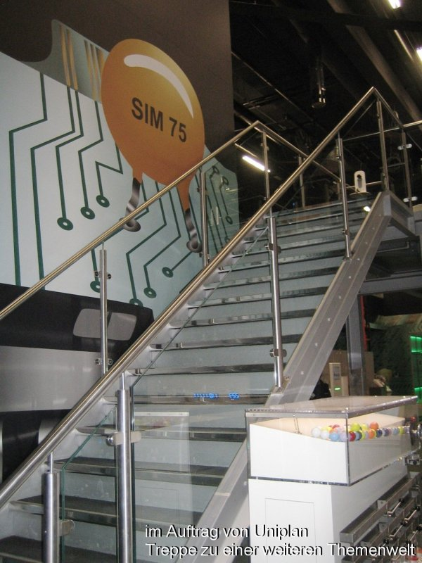 Photo: Metallbau Wittenberg, on behalf of Uniplan, Stair to an other s