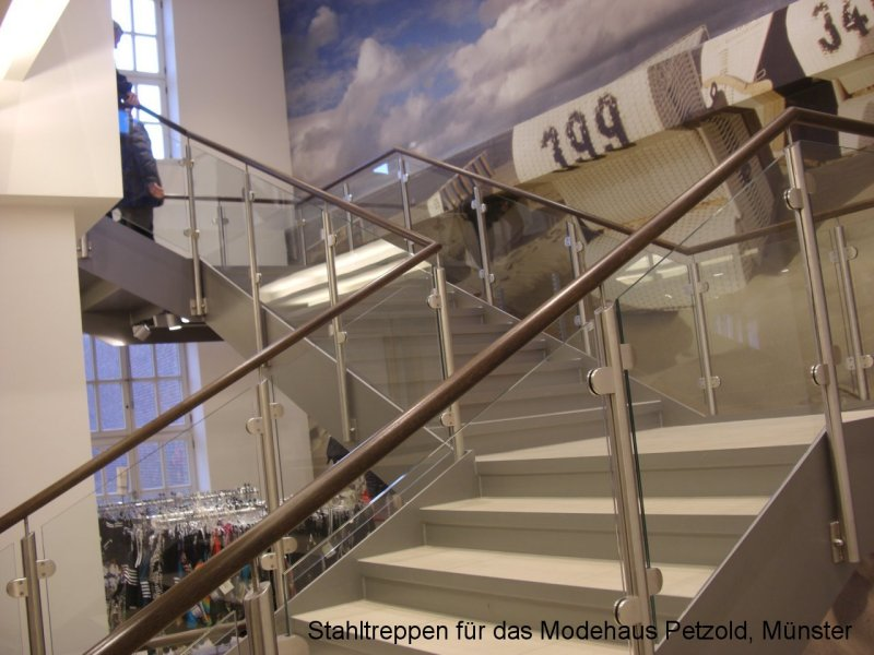 Photo: Metallbau Wittenberg, on behalf of fashion house Petzold, Steel