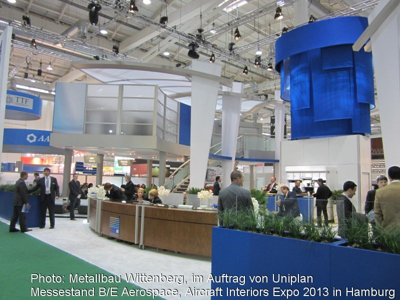 Photo: Metallbau Wittenberg, on behalf of Uniplan, trade fair stand B/