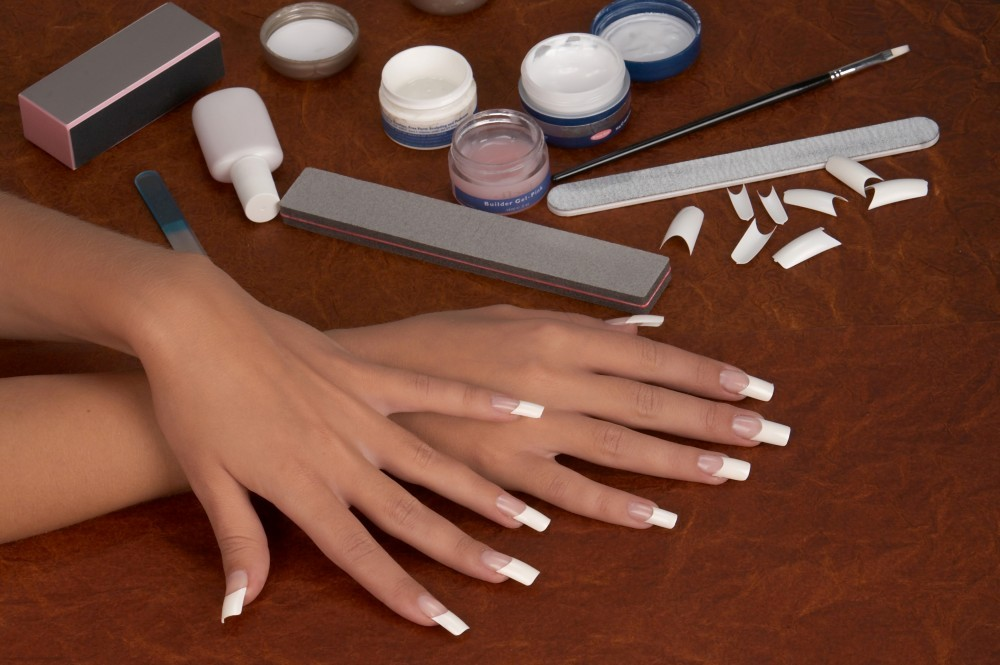 Как самой нарастить ногти в домашних условиях фото