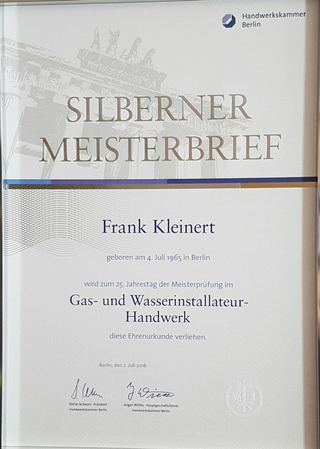 Kleinert Gasgeräteservice Berlin - Home