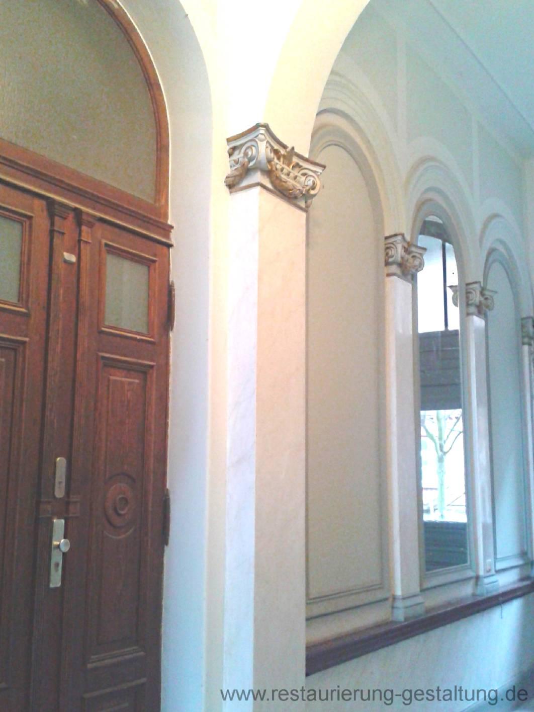 vergoldung marmormalerei restaurator. Black Bedroom Furniture Sets. Home Design Ideas