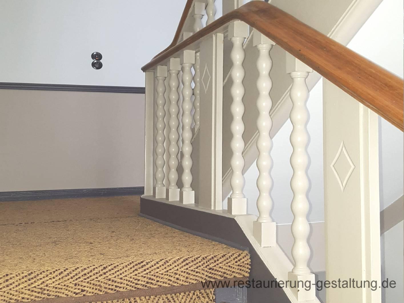 Moderne Treppenhausgestaltung Altbau | loopele.com