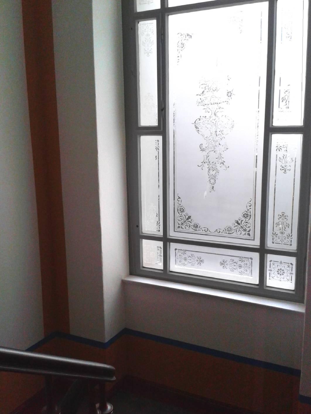 jugendstil treppenhaus in berlin mit malerarbeiten von. Black Bedroom Furniture Sets. Home Design Ideas