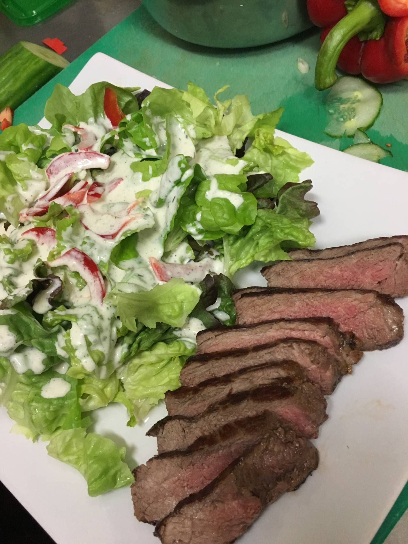 Steakhouse Salat