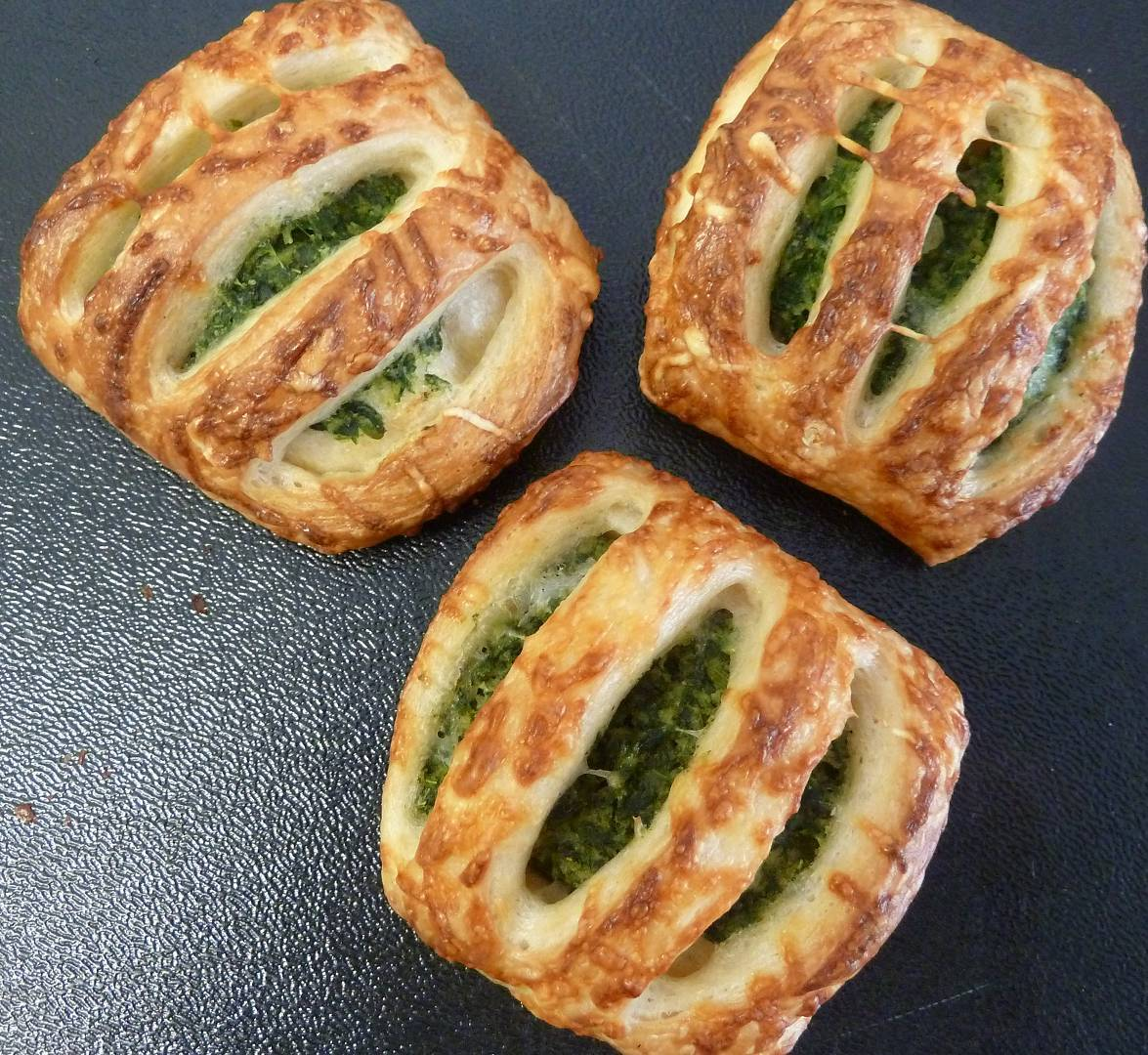 Mini-Spinatstrudel