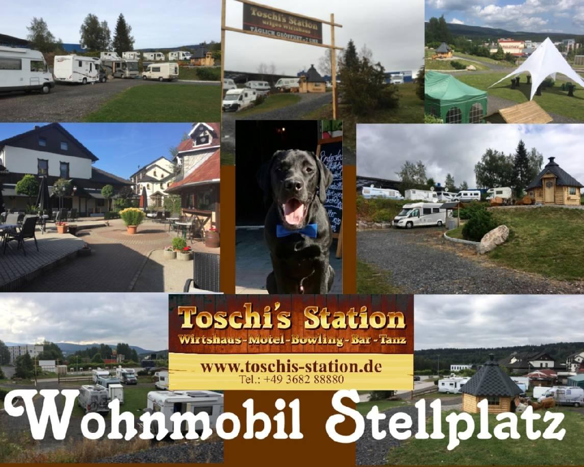 toschis station wohnmobilstandplatz. Black Bedroom Furniture Sets. Home Design Ideas