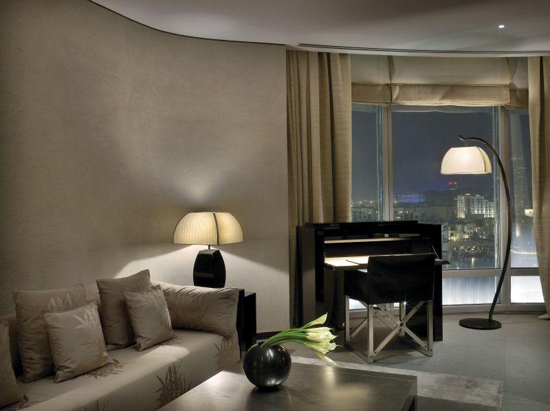 Foto ARMANI HOTEL DUBAI Fountain Suite