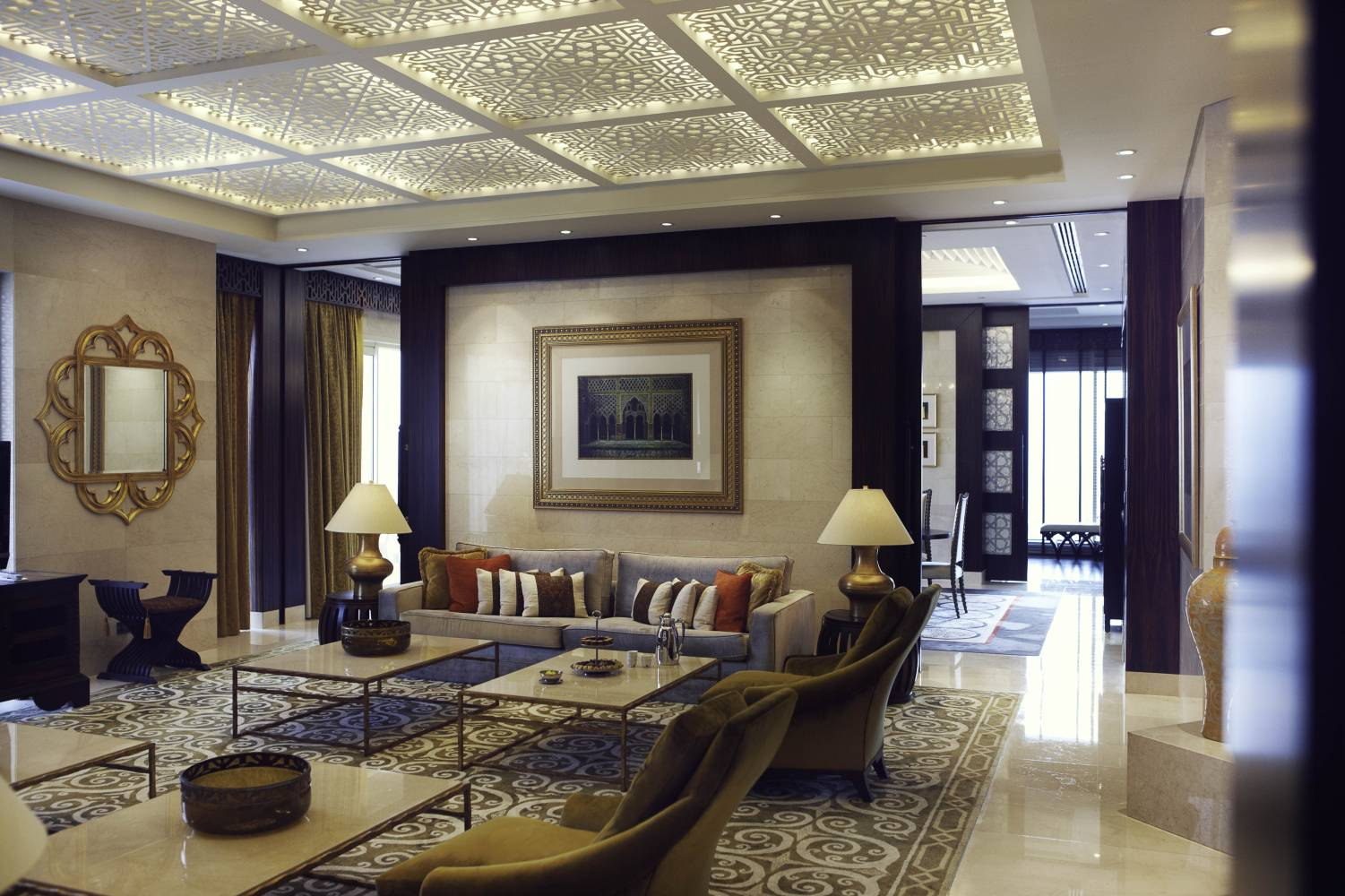 Raffles Dubai Royal Suite