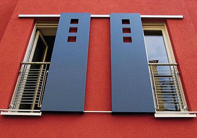 Klappläden Schiebeläden Fensterläden Stuttgart Elektrische