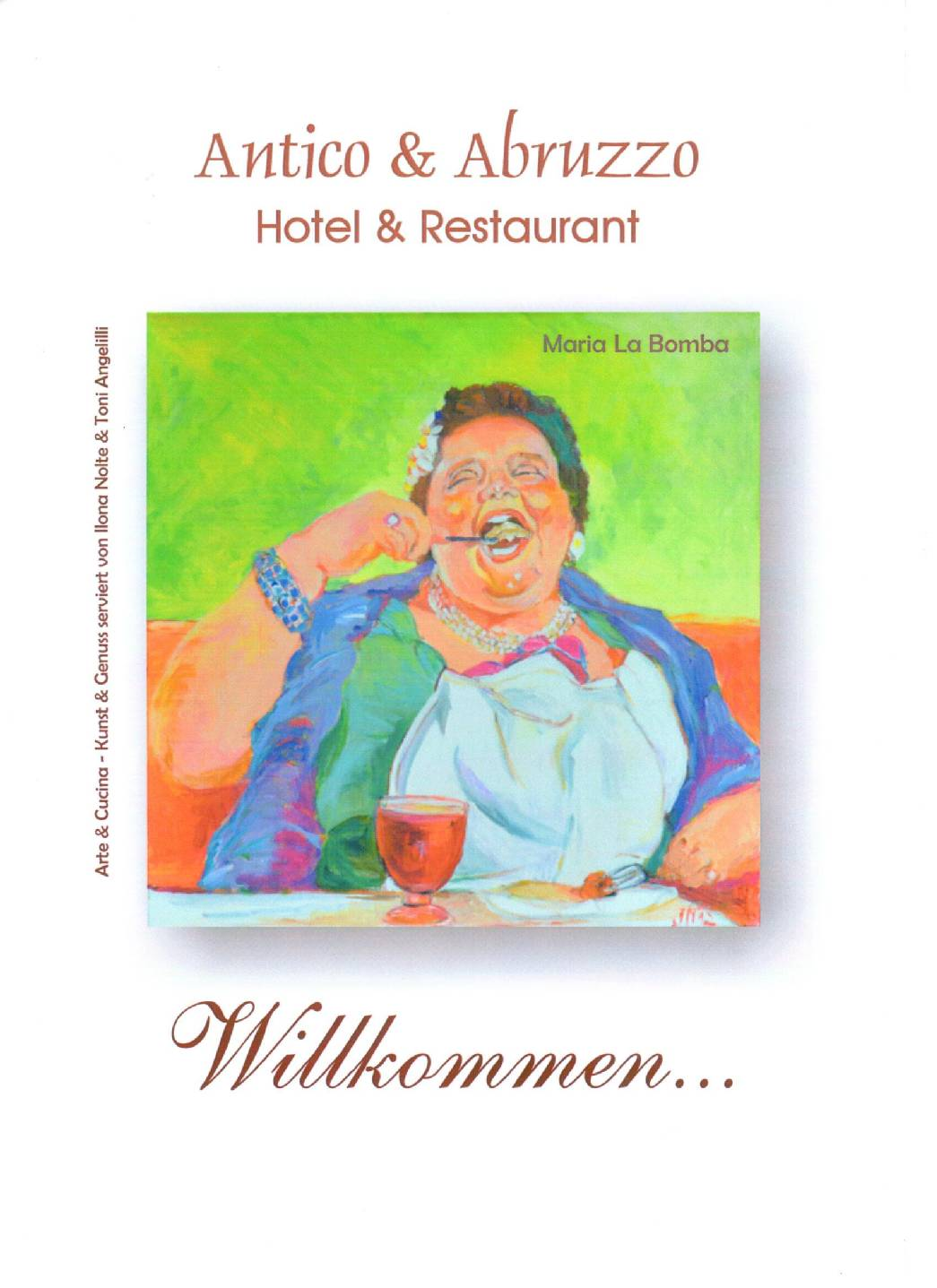 Gemalte Kinderbilder hotel und restaurant antico abruzzo in hann münden antico