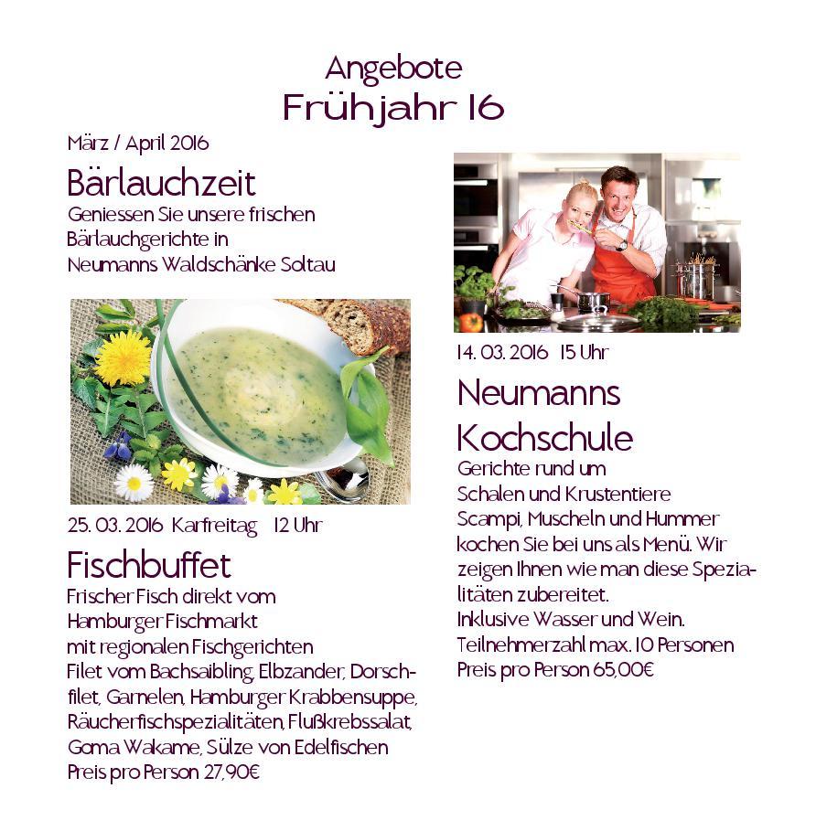 Ihr Hotel-Restaurant Zur Waldschänke in Soltau - News