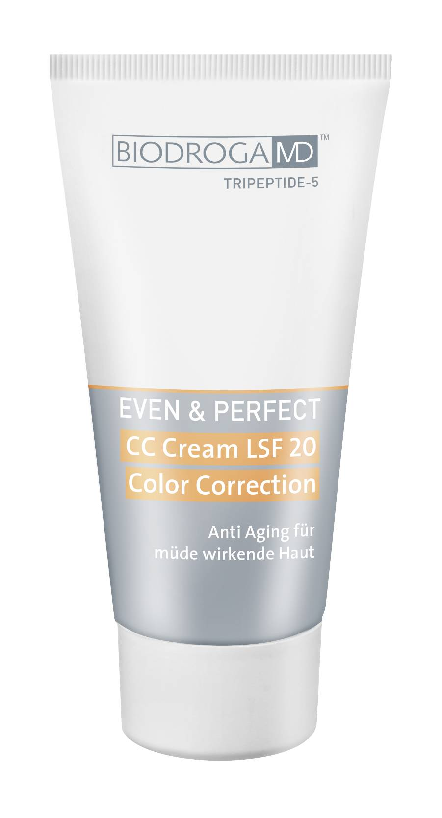 44095_BD MD Etikett EVEN & PERFECT CC Cream Anti-Mu¦êdigkeit Tube 40ml i140124_2_300dpi