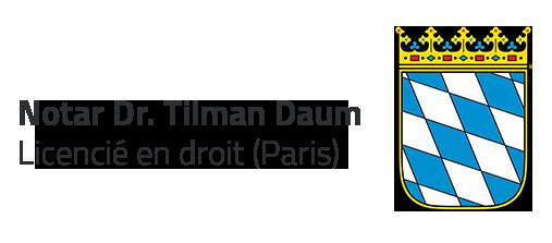 Notar Dr Tilman Daum In Tittmoning Home