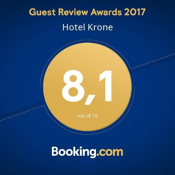 booking award 2017