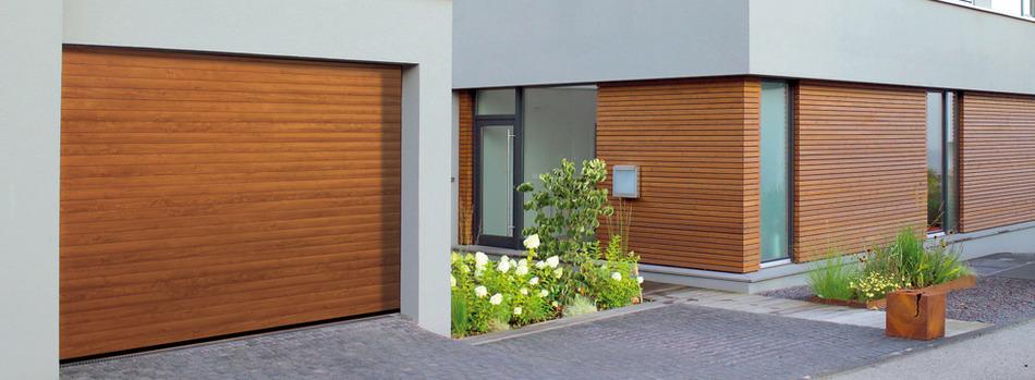 Garage modern holz  Reindl Bauelemente in Velburg - Garagen-Rolltor RollMatic