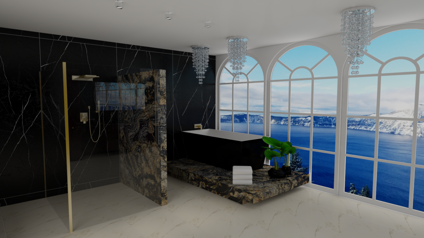 Luxury Line- Badezimmer