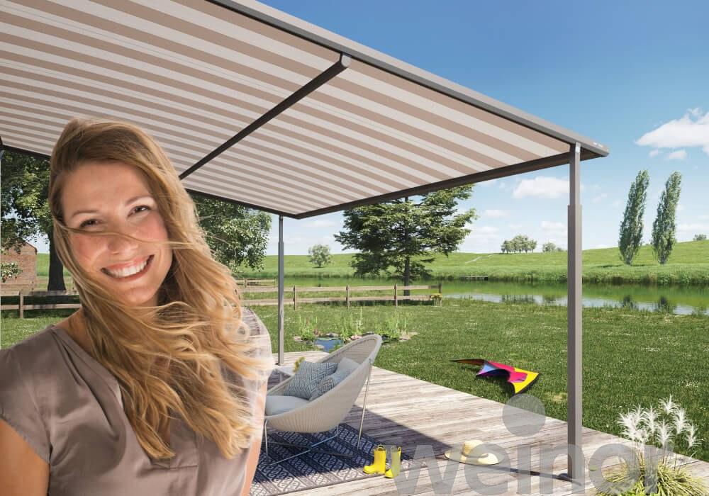 Gl Ck Raum Ausstattung Sonnen Regenschutz Weinor