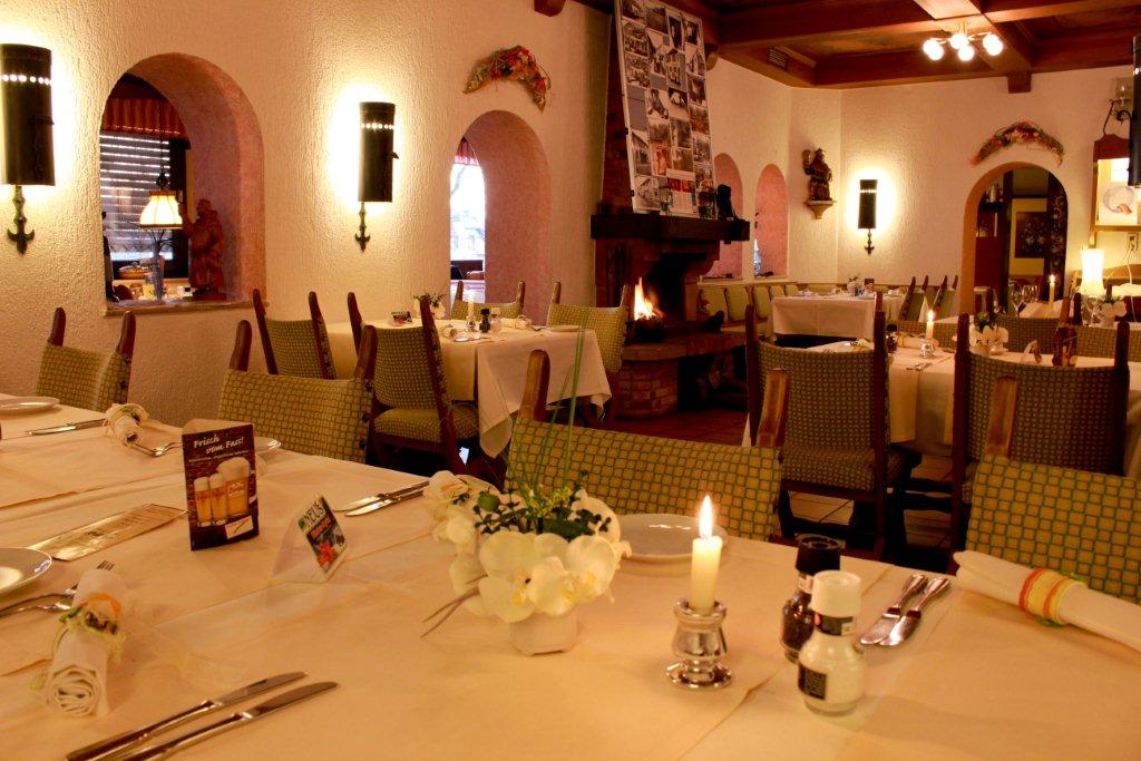 Enjoy your dinner in our restaurant in Kaiserslautern.