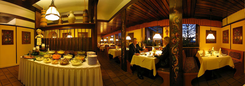 We offer regional specialties in our restaurant in Kaiserslautern