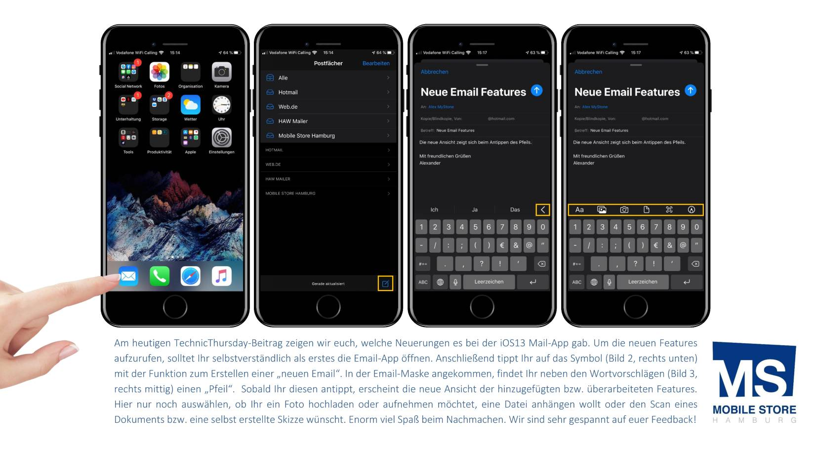 170. iOS13 - Neue Email Features