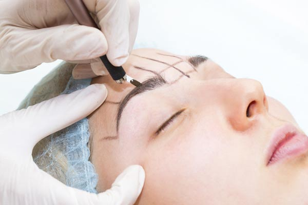 Microblading, Permanent Make-up Augenbrauen
