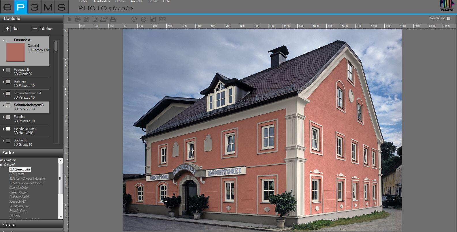 Qualität mit System - Virtuelle Fassadengestaltung