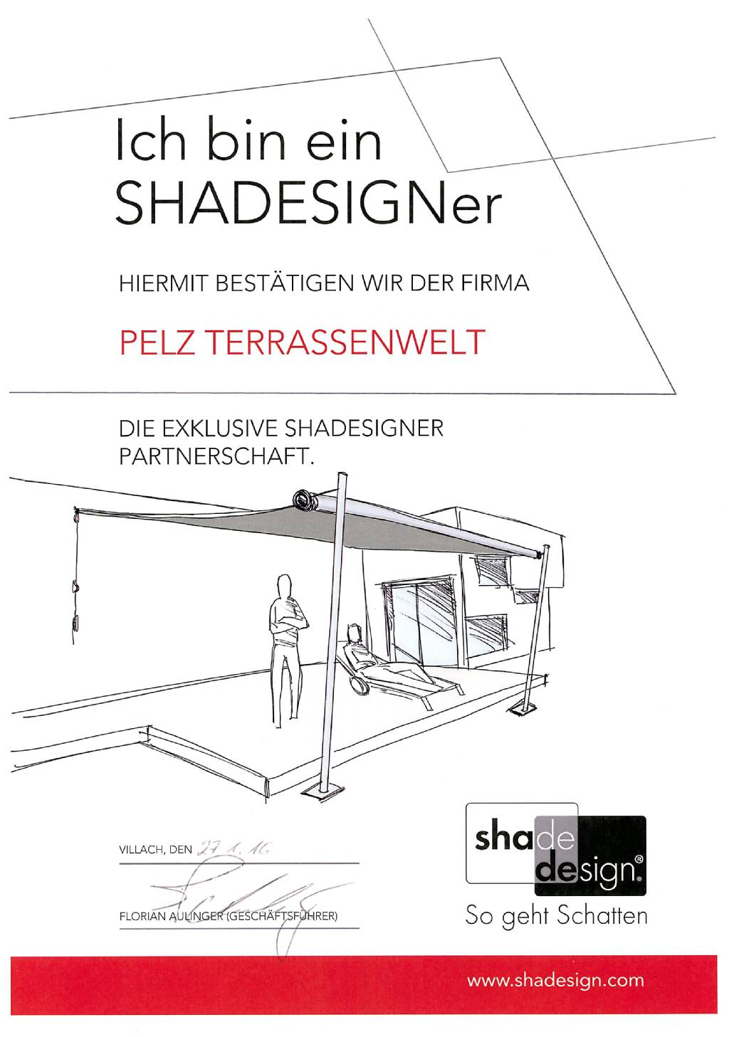Exklusive SHADESIGNer Partnerschaft