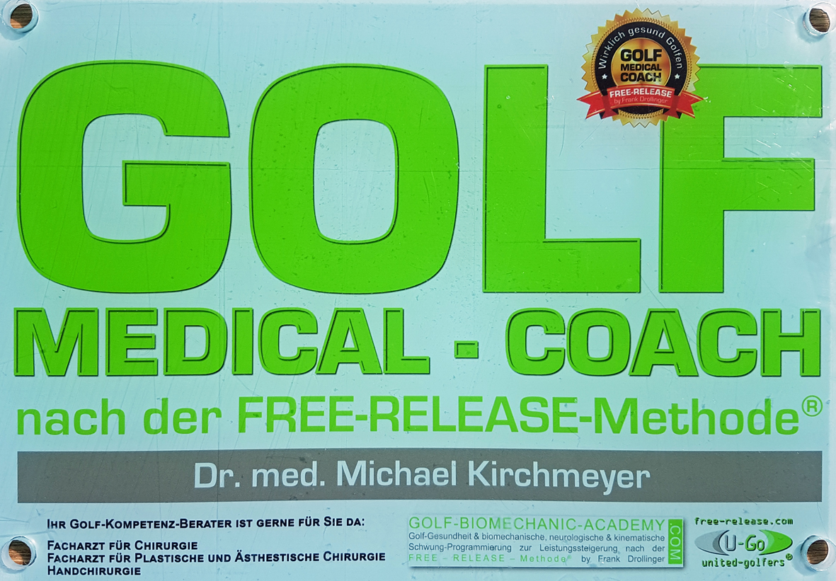 DR. med. Michael Kirchmeyer, Golf Medical Coach
