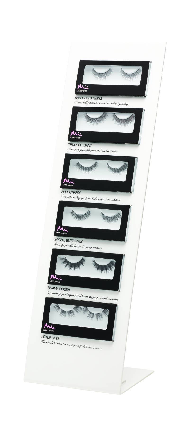 Mii Love Lashes Wimperndisplay, Fake Lashes