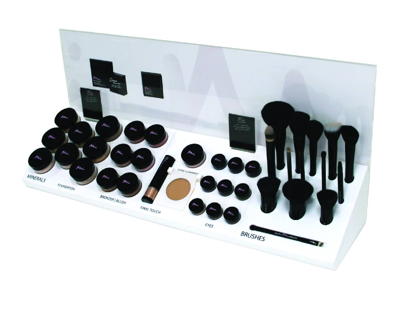 Mineral Make-up Display