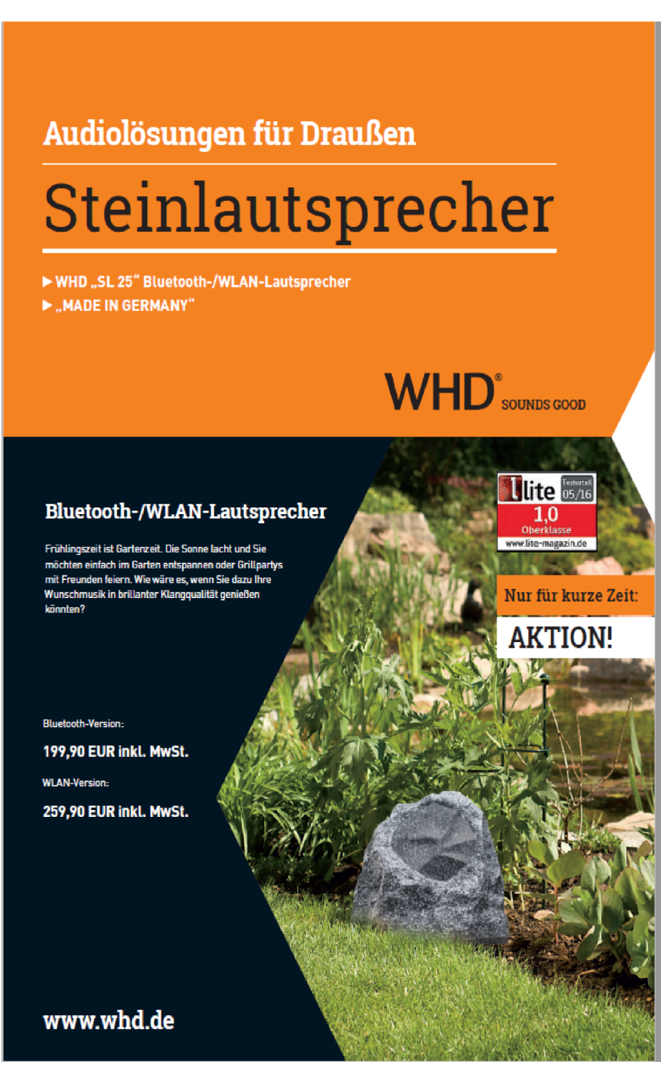 WHD Sound Steinlautsprecher