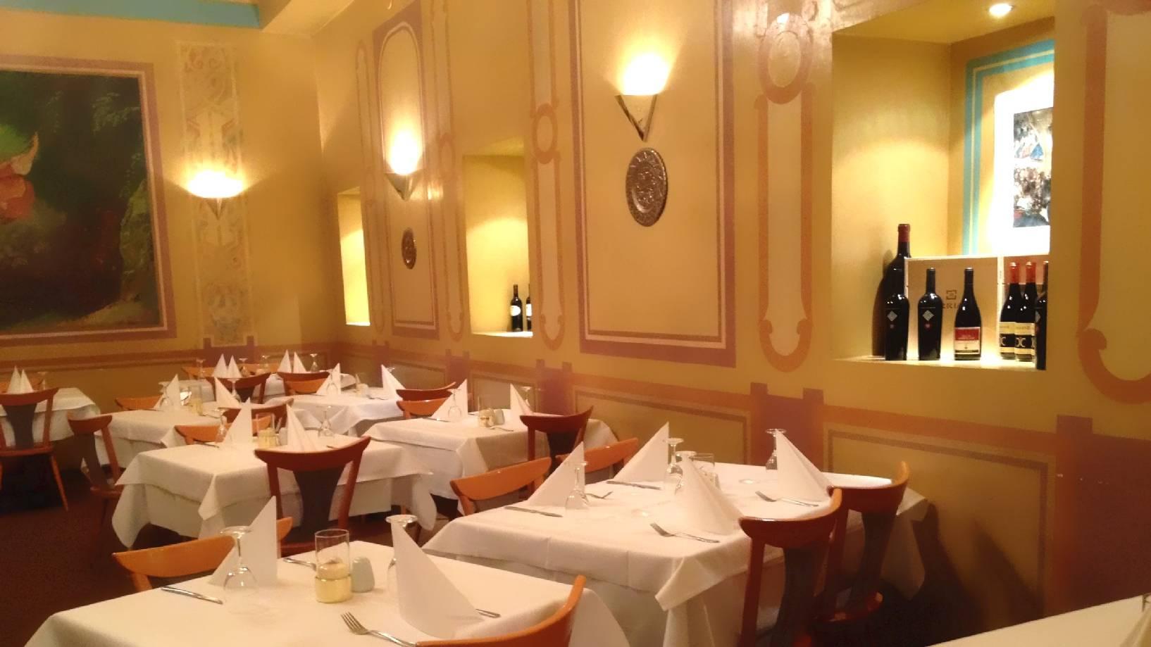 ... Traditionelle Italienische Küche In Einem Unvergleichbaren  Venezianischen Ambiente, Unmittelbar An Der Schlossstrasse In Berlin  Steglitz.